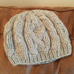 Divided Grey Knit hat